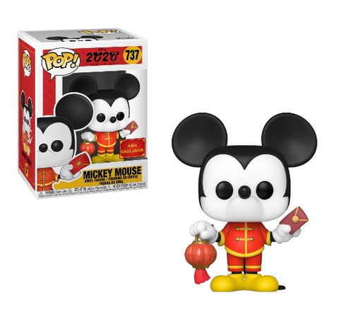 Disney Chinese New Year Mickey Mouse Asia Exclusive Pop! Vinyl Figure