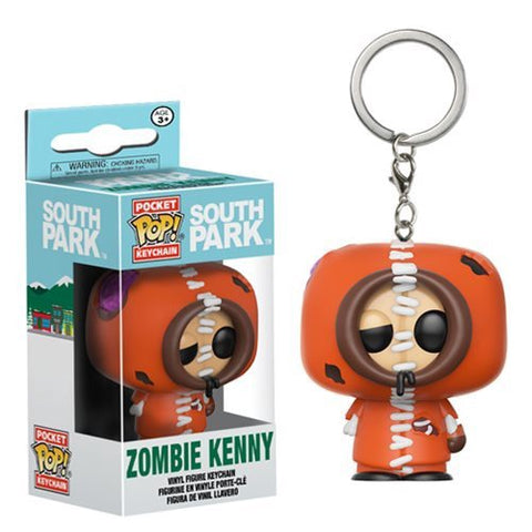 Funko South Park Zombie Kenny Pocket Pop! Vinyl Key Chain Kramer Toy Warden Greenhills, Alabang Mall, Philippines