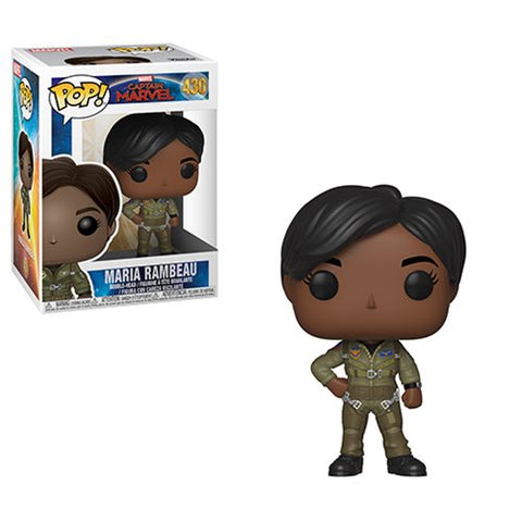Funko Captain Marvel Maria Rambeau Pop! Vinyl Figure #430 Kramer Toy Warden Greenhills, Alabang Mall, Philippines