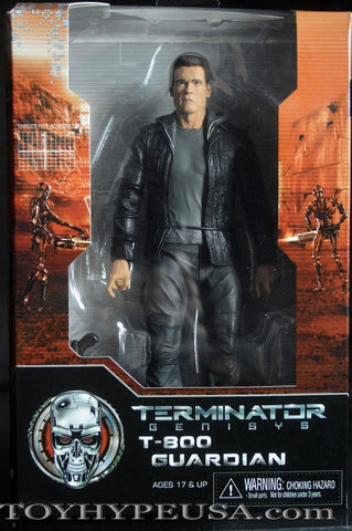 NECA Terminator Genisys T-800 GUARDIAN action figure.