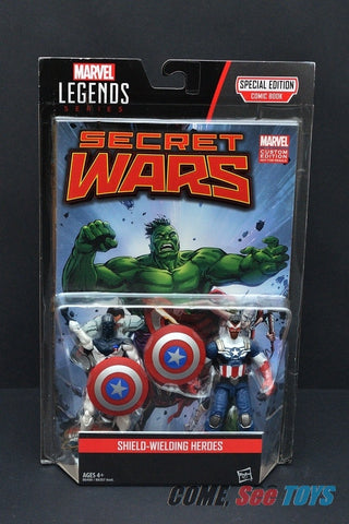"Marvel Legends 3.75"" SHIELD WIELDING HEROES 2-Pack"