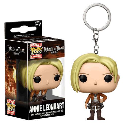 Attack on Titan Annie Leonhart Pocket Pop! Vinyl Key Chain