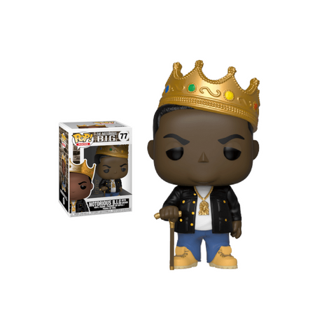 Funko Pop Rocks: Notorious B.I.G with Crown Pop! Vinyl Figure Kramer Toy Warden Greenhills, Alabang Mall, Philippines