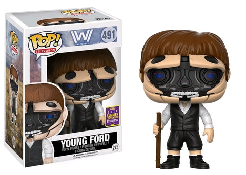 Funko Westworld Robotic Young Ford Pop Vinyl Figure SCE 2017 Kramer Toy Warden Greenhills, Alabang Mall, Philippines