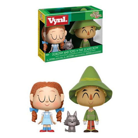 Wizard of Oz Dorothy and Scarecrow VYNL Figure 2-Pack