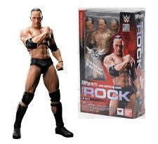 WWE The Rock S.H. Figuarts action figure