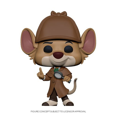 Preorder The Great Mouse Detective Basil Pop! Vinyl Figure PO P550