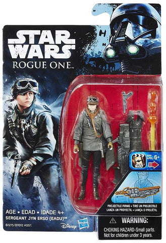 "Star Wars Rogue One Sergeant Jyn Erso 3.75"" Action Figure"