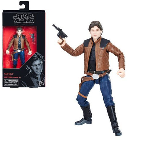 Star Wars The Black Series Han Solo (Solo) 6-Inch Action Figure