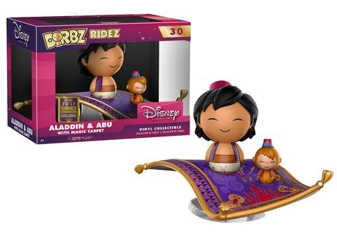 Dorbz Aladdin and Abu with Magik Carpet SCE 2017