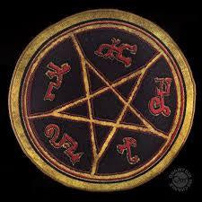 "Supernatural DEVIL'S TRAP 24"" Doormat"