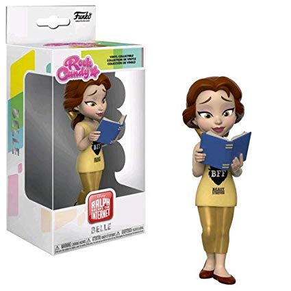 Comfy Princesses Belle Rock Candy Vinyl Figure