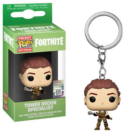 Fortnite Tower Recon Specialist Pocket Pop! Key Chain