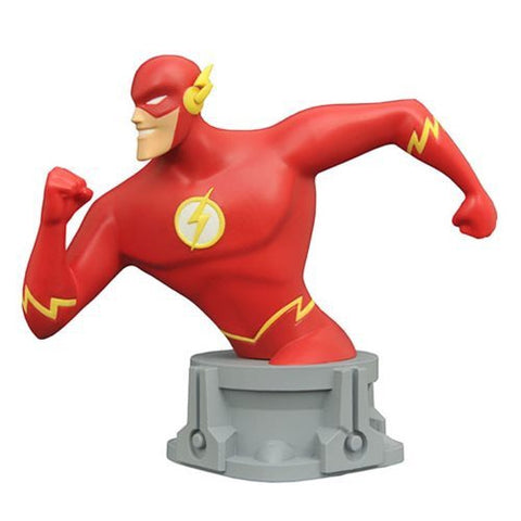 JLA Animated Series Flash Resin Bust - SDCC 2017 Exclusive