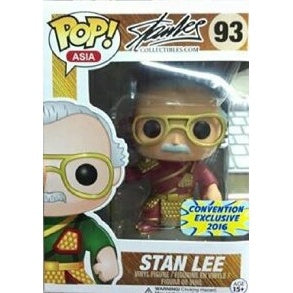 Stan Lee (Guan Yu) (Red) Pop! Vinyl Figure Convention Asia Exclusives