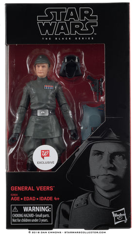 Star Wars The Black Series General Veers Walgreens Exclusive 6-Inch Action Figure