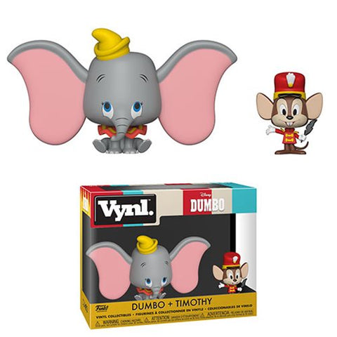 Dumbo and Timothy Vynl. Figure 2-Pack Kramer Toy Warden in the Philippines