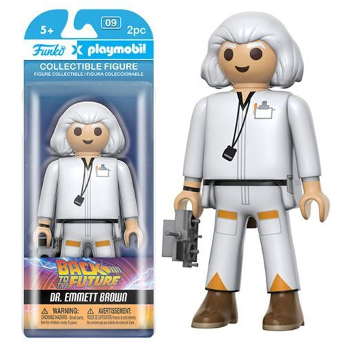 Back to the Future Doc Brown 6-Inch Playmobil action figure