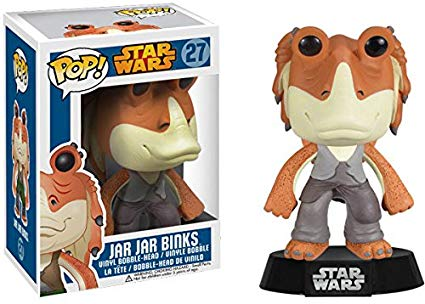 Funko Pop! Jar Jar Binks (Vaulted) Vinyl Figure #27