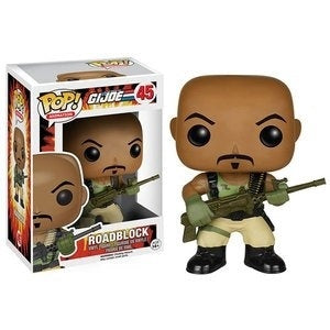 Funko G.I. Joe Roadblock Pop! Vinyl Figure Kramer Toy Warden Greenhills, Alabang Mall, Philippines