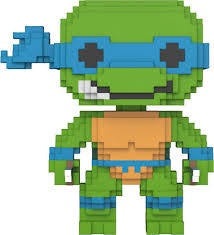 Funko Teenage Mutant Ninja Turtles Leonardo 8-Bit Pop! Vinyl Figure #04 Kramer Toy Warden Greenhills, Alabang Mall, Philippines