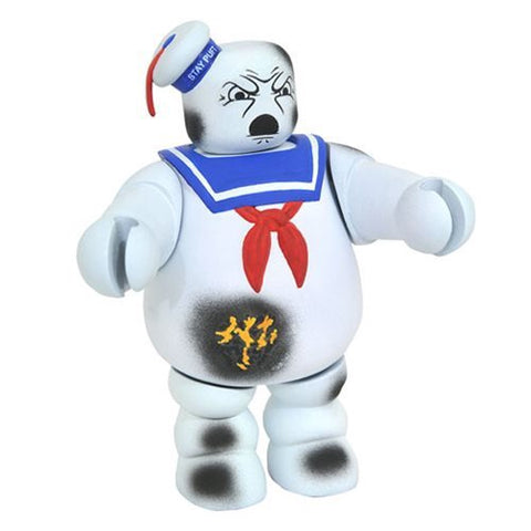 Ghostbusters Battle Damaged Stay Puft Vinimate SDCC 2017 Ex.