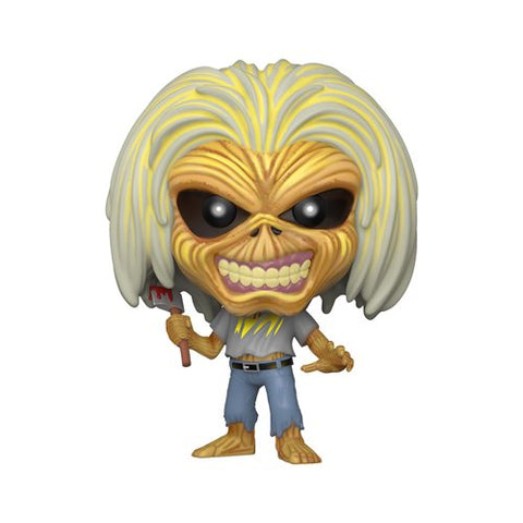 Pop Rocks: Iron Maiden Killers (Skeleton Eddie) Vinyl Figure
