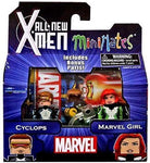 Minimates All New X-Men Cyclops & Marvel Girl 2-Pack