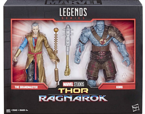 Preorder Marvel Legends MCU Grandmaster and Korg Action Figure 2-Pack  P2795