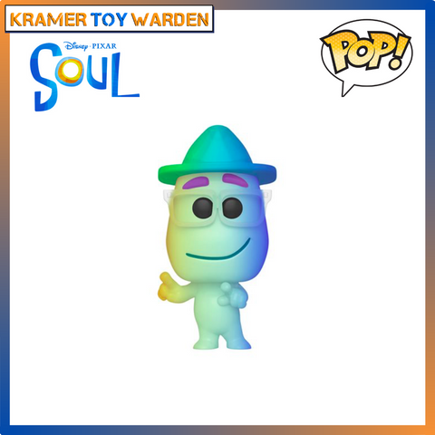 Pixar Soul Joe Gardner (Soul Version)  Pop! Vinyl Figure