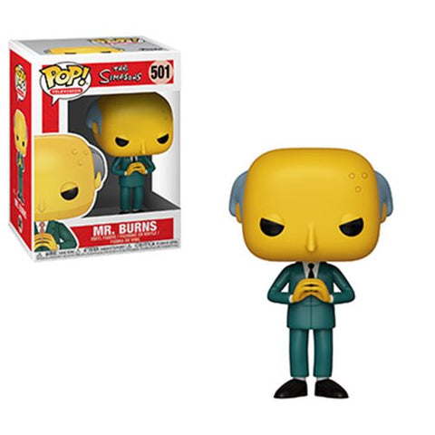 Funko  Animation: Simpsons Series 2 Mr Burns Pop! Vinyl Figure PO P550 Kramer Toy Warden Greenhills, Alabang Mall, Philippines