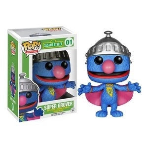 Funko Sesame Street Super Grover Pop! Vinyl Figure Kramer Toy Warden Greenhills, Alabang Mall, Philippines