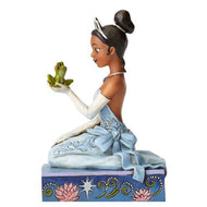 "Disney Traditions Tiana with Frog 8"" Statue"