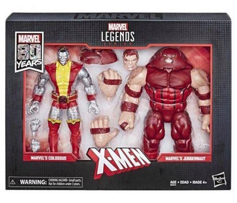 Marvel 80th Anniversary Colossus and Juggernaut Action Figure