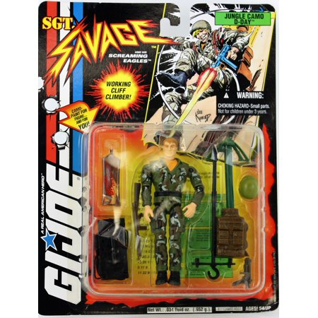 "G.I. Joe Sgt. Savage and His Screaming Eagles: Jungle Camo D-Day 3.75"" Action Figure"