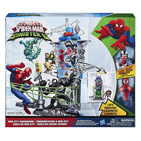 Marvel Spider-Man Web City Showdown Play Set Action Figure