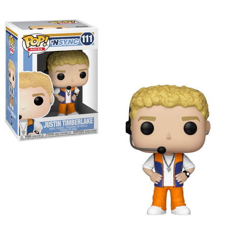 Pop Rocks! NSYNC Justin Timberlake Vinyl Figure Not Mint