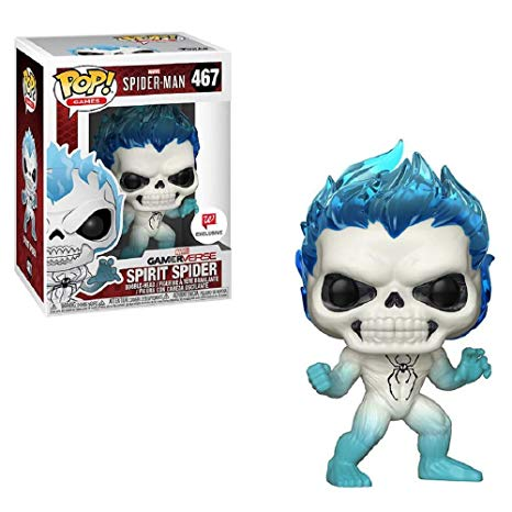 Marvel Spider-Man Spirit Spider Walmart Exclusives Pop Vinyl Figure