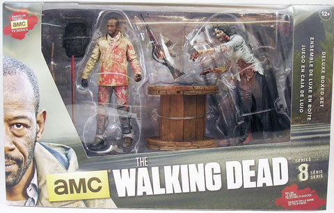 "The Walking Dead Tv Series 8 Morgan With Impaled Walker 6"" Action Figures"