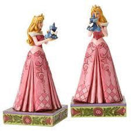"Disney Traditions Aurora with Fairy 8"" Statue"