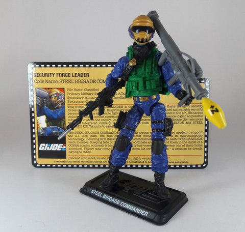 "G.I. Joe Zombie Initiative: Steel Brigade Commander 3.75"" Action Figure Loose"
