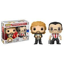 "Funko WWE Million Dollar Man ""Ted Dibiase & I.R.S 2 Pack Pop! Vinyl Figure Walgreens Exclusive Kramer Toy Warden Greenhills, Alabang Mall, Philippines"