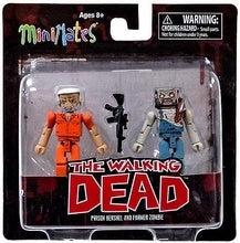 Minimates The Walking Dead Prison Hershel & Farmer Zombie 2-Pack Series 4