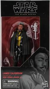 "Star Wars Black Series 6"" Solo Wave Lando Calrissian"