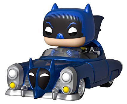 Batman 1950 Batmobile 80th Anniversary Pop! Vinyl Vehicle Metallic Exclusive