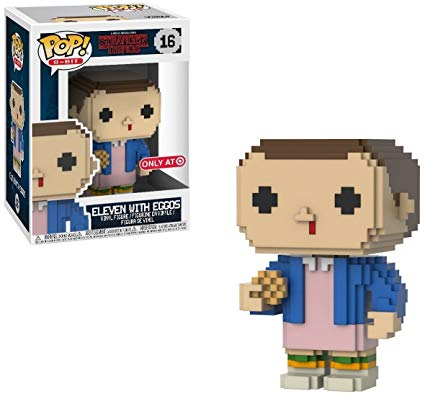 Funko Stranger Things Eleven 8-Bit Target Exclusive Pop! Vinyl Figure Kramer Toy Warden Greenhills, Alabang Mall, Philippines