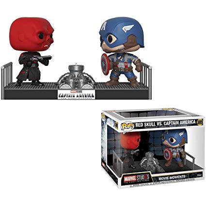 Marvel Movie Moments Captain America & Red Skull Pop! Vinyl Figures