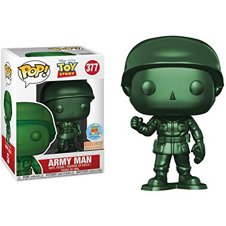 Funko Disney Toy Story Army Man Boxlunch Exclusive Pop! Vinyl Figure Kramer Toy Warden Greenhills, Alabang Mall, Philippines
