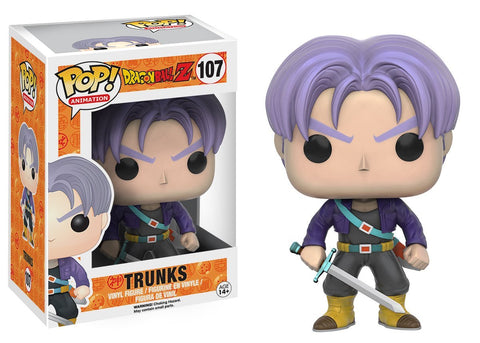 Funko Pop! Dragon Ball Z Trunks