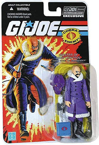 G.I. Joe 2015 GI Joe Collectors Club Arctic Dr. Mindbender